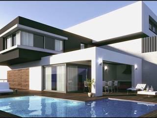 Estructura-Arquitectura-Construcción: Casas de estilo  por ESAC