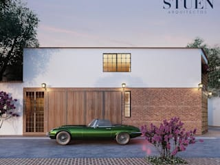 Stuen Arquitectos Single family home Bricks Red