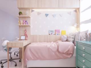 Chambre d'enfant de style  par ARQUITETURA - Camila Fleck,