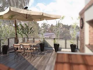 Remodelacion y Recuperacion de una Terraza Balcones y terrazas modernos: Ideas, imágenes y decoración de VI Arquitectura & Dis. Interior Moderno