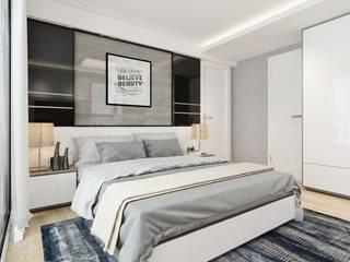 CÔNG TY THIẾT KẾ NHÀ ĐẸP SANG TRỌNG CEEB Dormitorios de estilo moderno
