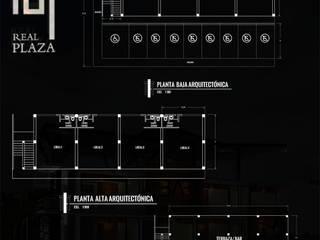 PLANO: Edificios de Oficinas de estilo  por TALLARQ