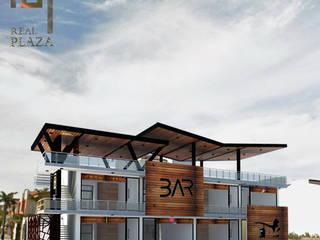 FACHADA : Edificios de Oficinas de estilo  por TALLARQ