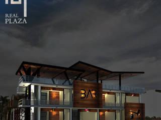 FACHADA: Edificios de Oficinas de estilo  por TALLARQ