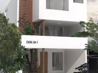 FACHADA: Casas unifamiliares de estilo  por TALLARQ