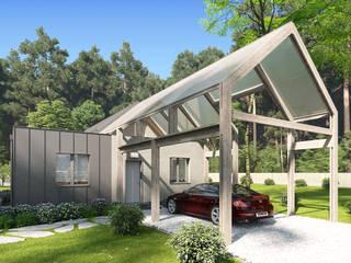 Дом в Краснодаре в стиле барнхаус:  в . Автор – Архитектурное бюро
