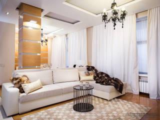 Дом с Подмосковье: Гостиная в . Автор – InteriorS4SeasonS