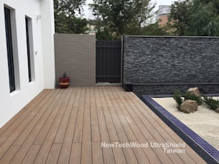 Casas unifamilares de estilo  de 新綠境實業有限公司, Asiático