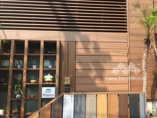 新綠境實業有限公司 Mehrfamilienhaus Holz-Kunststoff-Verbund Holznachbildung