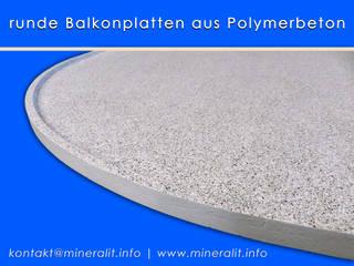 modern  by Mineralit - Mineralgusswerk Laage GmbH, Modern