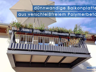 Mineralit - Mineralgusswerk Laage GmbH Balconies, verandas & terraces Accessories & decoration Synthetic Multicolored