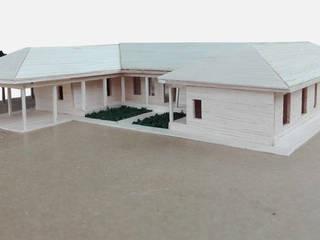 Casa Santa Cruz de LEON CAMPINO ARQUITECTURA SPA Rural