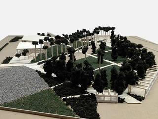 Planta Maestro Parque Ferial A.G.A.C. Talca de LEON CAMPINO ARQUITECTURA SPA Moderno