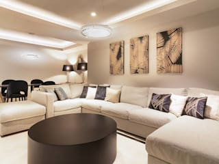 Living room by Keinzo Interiores