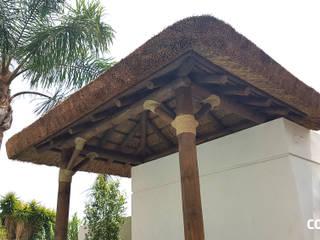 Pérgola de Junco Africano de COBERTI Tropical