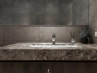 Xizhi C House:  浴室 by 質覺制作設計有限公司