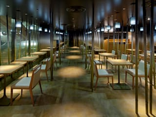 nana's green tea 横浜ジョイナス店 オリジナルなレストラン の 株式会社KAMITOPEN一級建築士事務所 オリジナル