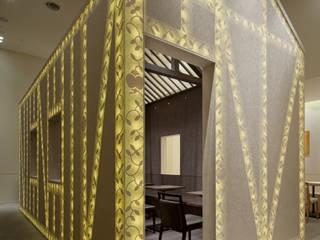 nana's green tea 広島トランヴェールビルディング店 オリジナルなレストラン の 株式会社KAMITOPEN一級建築士事務所 オリジナル
