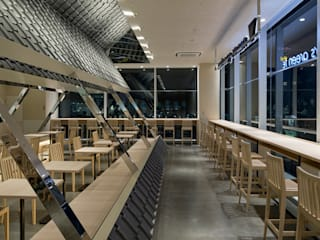 nana's green tea ピオレ姫路店 オリジナルなレストラン の 株式会社KAMITOPEN一級建築士事務所 オリジナル