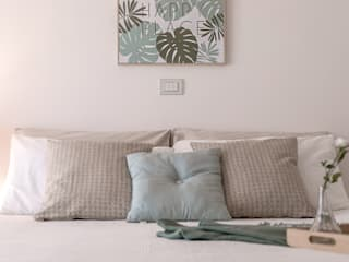Habitat Home Staging & Photography Chambre moderne Vert