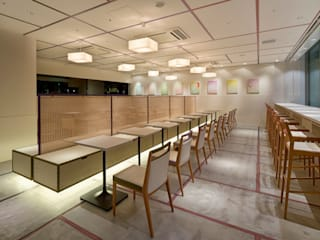 nana's green tea 天神ソラリアプラザ店 オリジナルな商業空間 の 株式会社KAMITOPEN一級建築士事務所 オリジナル