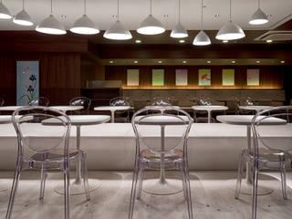 nana's green tea 岡田屋モアーズ店 オリジナルな商業空間 の 株式会社KAMITOPEN一級建築士事務所 オリジナル
