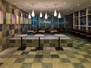 nana's green tea ノースポートモール店 オリジナルな商業空間 の 株式会社KAMITOPEN一級建築士事務所 オリジナル