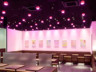 nana's green tea イーアス筑波店 オリジナルな商業空間 の 株式会社KAMITOPEN一級建築士事務所 オリジナル
