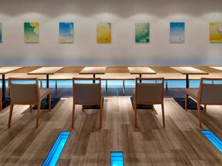 nana's green tea 横須賀モアーズ店 オリジナルな商業空間 の 株式会社KAMITOPEN一級建築士事務所 オリジナル