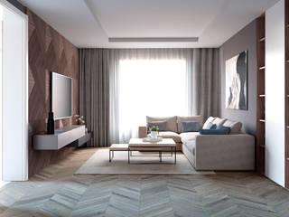Minimalistische Wohnzimmer von Style Home Minimalistisch