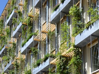 Amtshaus Wiener Wasser MA 31, Grabnergasse Moderne Bürogebäude von RATAPLAN - Architektur ZT GmbH Modern