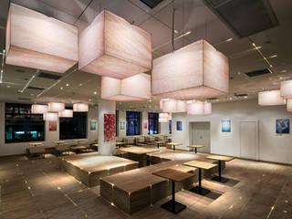 七叶和茶 南京東路店 オリジナルな商業空間 の 株式会社KAMITOPEN一級建築士事務所 オリジナル
