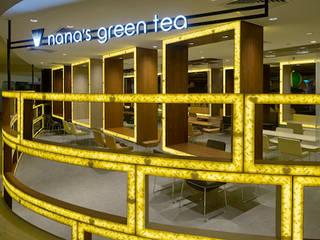 nana's green tea シンガポールプラザ店 オリジナルな商業空間 の 株式会社KAMITOPEN一級建築士事務所 オリジナル