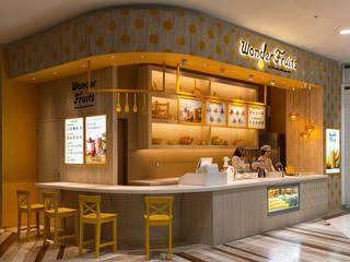 Wonder Fruits オリジナルな商業空間 の 株式会社KAMITOPEN一級建築士事務所 オリジナル