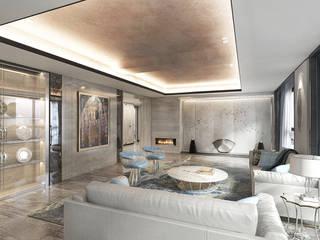 غرفة المعيشة تنفيذ 芮晟設計事務所