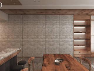 ห้องทานข้าว โดย 芮晟設計事務所, โมเดิร์น