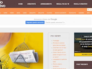 blog riciclo creativo:  in stile  di Anna Francioni - homify