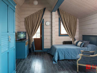 Country style bedroom by Art-In Country