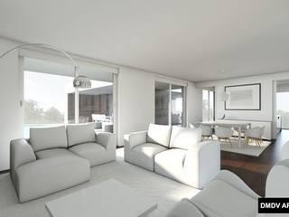 Modern Living Room by DMDV Arquitectos Modern