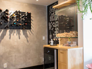 Wine cellar by CORES - Arquitetura e Interiores, Modern