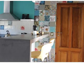 Casa LM: Cocinas de estilo  por Gomez Vidaguren Arquitectos