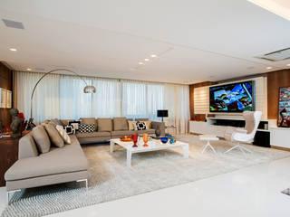 Apartamento Av. Beira Mar Salas de estar modernas por RI Arquitetura Moderno