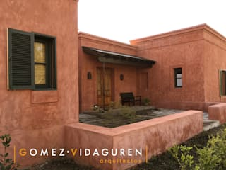 Casa LO: Casas de estilo  por Gomez Vidaguren Arquitectos