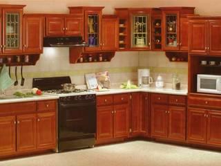 Cocinas residenciales economicas ห้องครัว