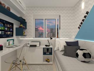 Dormitório Teen Masculino por Juliana Lobo Arquitetura & Interiores