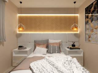Dormitório Casal Quartos modernos por Juliana Lobo Arquitetura & Interiores Moderno