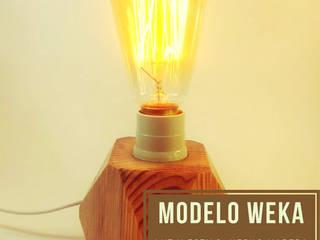 Pequeñas Lámparas Decorativas en madera:  de estilo  por Kú Lámparas