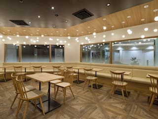 nana's green tea 難波シティー店 オリジナルな商業空間 の 株式会社KAMITOPEN一級建築士事務所 オリジナル
