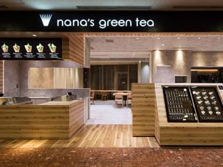 nana's green tea HEP FIVE店 オリジナルな商業空間 の 株式会社KAMITOPEN一級建築士事務所 オリジナル