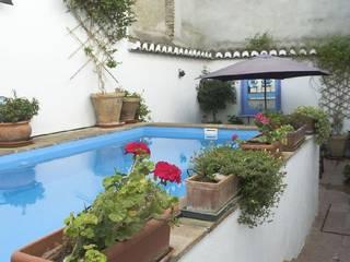 Casa Singuita Piscinas de estilo rural de Mirasur Proyectos S.L. Rural